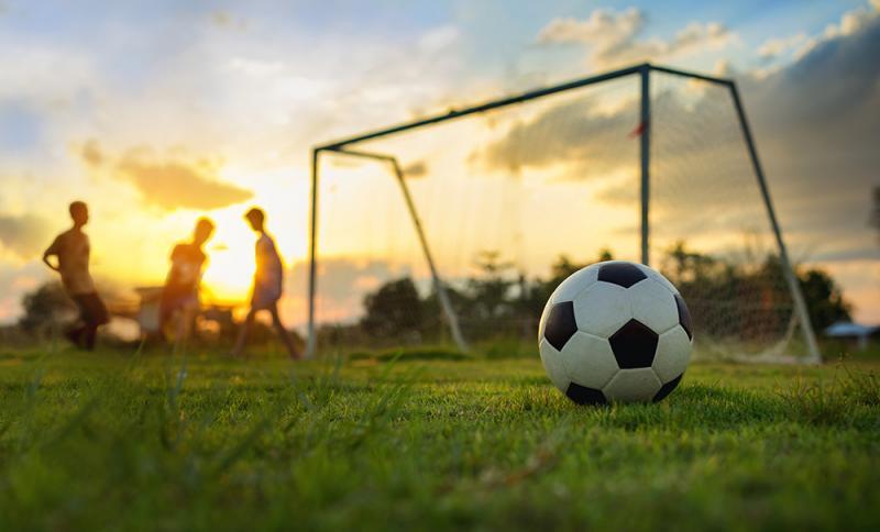 כדור רגל - כדורגל  גן